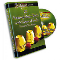 25 Amazing Tricks with Cups and Balls (DVD)