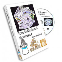 Torn & Restored Newspaper by Gene Anderson from th (DVD)