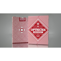 Mechanic Optricks (Red) Deck by Mechanic Industries