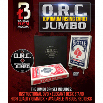 O.R.C.(Optimum Rising Card) Jumbo Red by Taiwan Ben