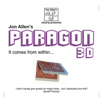 Paragon 3D Box (DVD and Gimmick) by Jon Allen