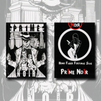 Pr1me Noir Deck (limited Edition)by Max Magic & Stratomagic
