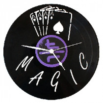 Magic Schallplatten Wanduhr