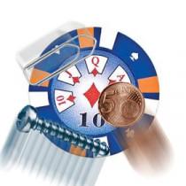 Starker magnetischer Casino Chip
