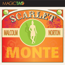 Scarlet Monte Blue (Gimmick and Online Instructions) by Malcolm Norton