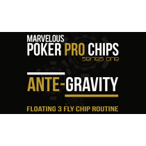 Ante Gravity - Floating 3 Fly Chip Routine (Gimmicks and Online Instructions) by Matthew Wright