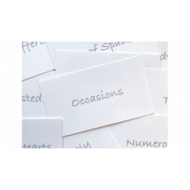 Appearing Business Cards (Prediction Pack) by Sam Gherman