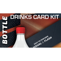 Drink Card KIT for Astonishing Bottle (Gimmick and Online Instructions) by João Miranda and Ramon Amaral