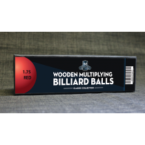 "Wooden Billiard Balls (1.75"" Red) by Classic Collections"