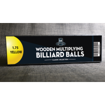 "Wooden Billiard Balls (1.75"" Yellow) by Classic Collections"