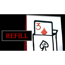 Refill for Cardiographic Recall (Card) by Martin Lewis, XapKat and Bond Lee
