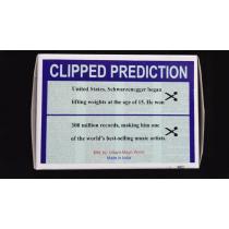 CLIPPED PREDICTION (Schwarzenegger/Elton) by Uday