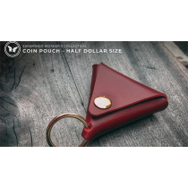 Limited Edition SansMinds Worker's Collection: Coin Pouch Red (Half Dollar Size) - Trick