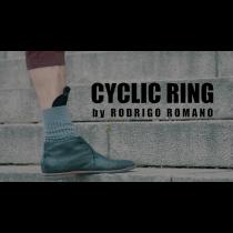 CYCLIC RING (Black Gimmick and Online Instructions) by Rodrigo Romano - Trick