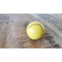 Final Load Ball Leather Yellow (5.7 cm) by Leo Smetsers