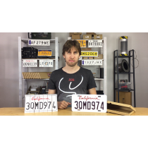 LICENSE PLATE PREDICTION - CALIFORNIA (Gimmicks and Online Instructions) by Martin Andersen - Trick