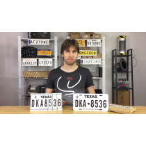 LICENSE PLATE PREDICTION - TEXAS (Gimmicks and Online Instructions) by Martin Andersen - Trick