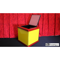 Mirror Box (Wood/Folded) by Mr. Magic