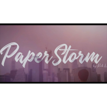 Paperstorm Red (DVD and Gimmicks) by Rich Li - DVD