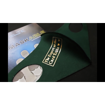 ReMASKable Expert at the Card Table (gold) by Agus Tjiu & Adrian Martinus