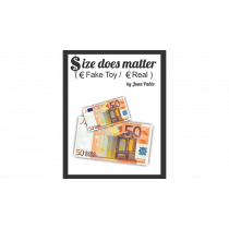 Size Does Matter EURO (Gimmicks and Online Instructions) by Juan Pablo Magic