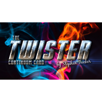 The Twister Continuum Card Red (Gimmick and Online Instructions) by Stephen Tucker