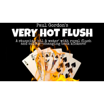 Very Hot Flush by Paul Gordon (Gimmick and Online Instructions)