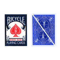 Split Pop Eyed Popper Deck Bicycle (Blue)