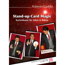 Stand-up Card Magic von Roberto Giobbifür Salon &Bühne