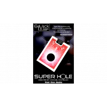SUPER HOLE (RED) by Mickael Chatelain