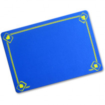 VDF Close Up Pad with Aces - Professional size  Blau 58x40