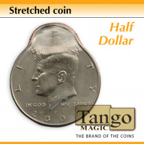 Stretched Coin - Half Dollar by Tango - Trick (D0096)