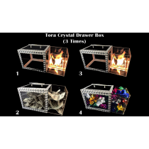 Tora Crystal Drawer Box 3 Times