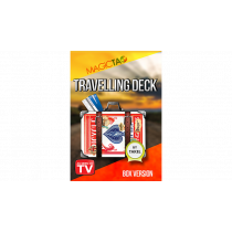 Travelling Deck Box Version Blue (Gimmick and Online Instructions) by Takel
