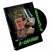 X Change (DVD and Gimmick) by Julio Montoro and SansMinds