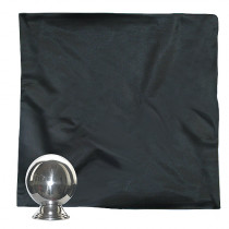 Zombie silk - 65 cm x 65 cm  -  Seidentuch deluxe schwarz