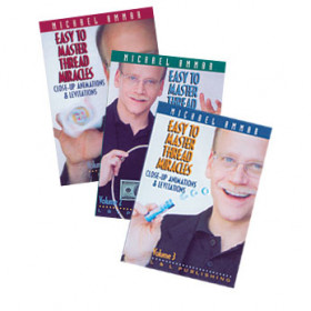 Easy to Master Thread Miracles Vol 3  - Michael Ammar (DVD)