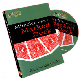 Miracles With A Marked Deck by Kirk Charles (DVD)