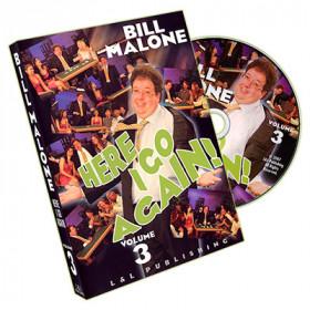 Here I Go Again by Bill Malone Volume 3 (DVD)