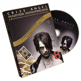Master Mindfreaks Vol. 8 by Criss Angel (DVD)