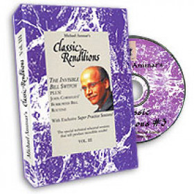 Classic renditions Vol. 3 (DVD) by Michael Ammar