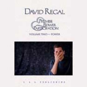 David Regal's Premise, Power & Participation Vol 2 (DVD)