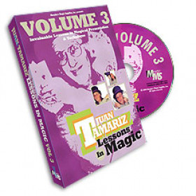 Lessons in Magic by Juan Tamariz Vol 3 (DVD)