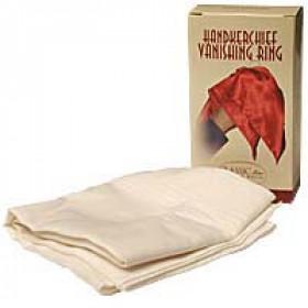 Hankerchief Vanishing Ring (White) by Bazar de Magia  - Verschwinde-Tuch
