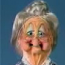 Granny Gertie Old Lady Puppet