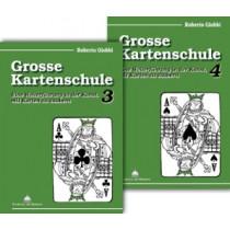 Buchset: Grosse Kartenschule 3 & 4 von Roberto Giobbi