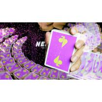 Jaspas Eggplant Playing Cards