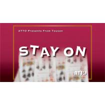 STAY ON by Touson & Katsuya Masuda (Gimmick and Online Instructions)