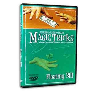 Amazing Easy To Learn Magic Tricks - Floating Bill (DVD)