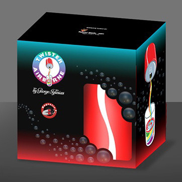 Magnetic Airborne (Cola) by Twister Magic - Trick